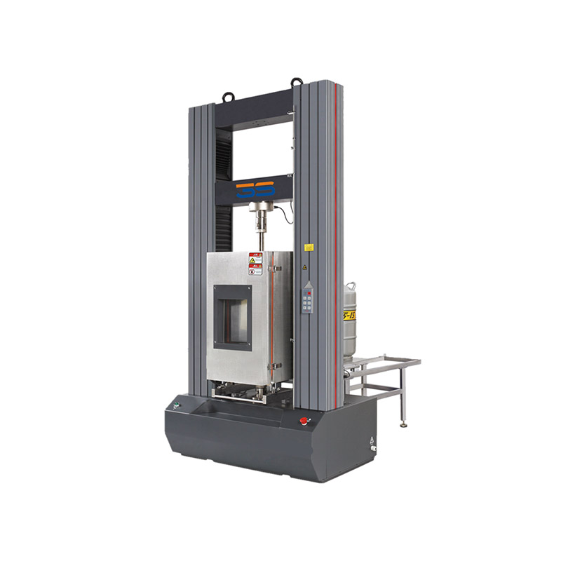 50KN-300KN microcomputer controlled high temperature box electronic universal testing machine